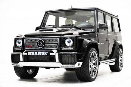 Brabus създаде модификация от 800к.с. G 65 AMG Widestar