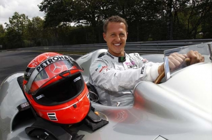 Пилето ще пилотира болид от Формула 1 на пистата в Нюрбургринг.