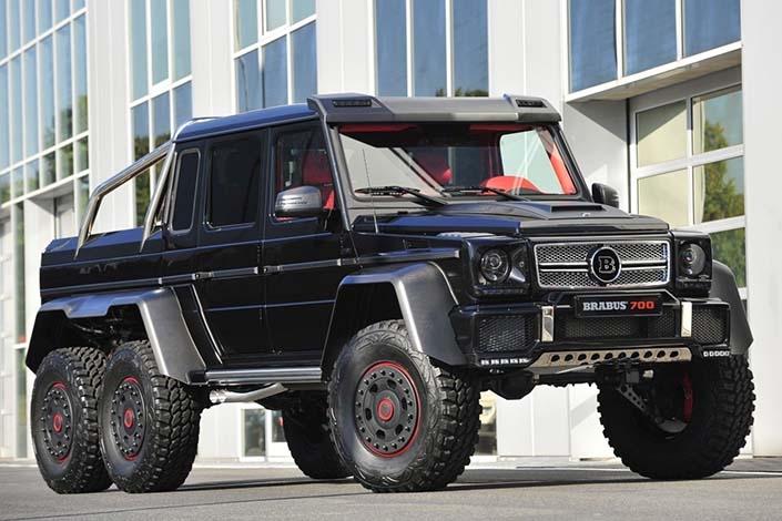 Шестколесният G-Class на българския пазар!